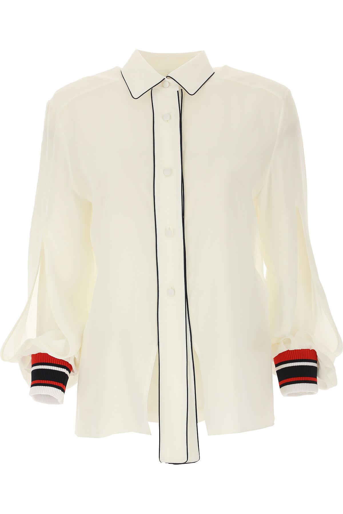 Golden Goose Shirt for Women On Sale, White, Silk, 2019, S (IT 40) M (IT 42 ) L (IT 44 )
