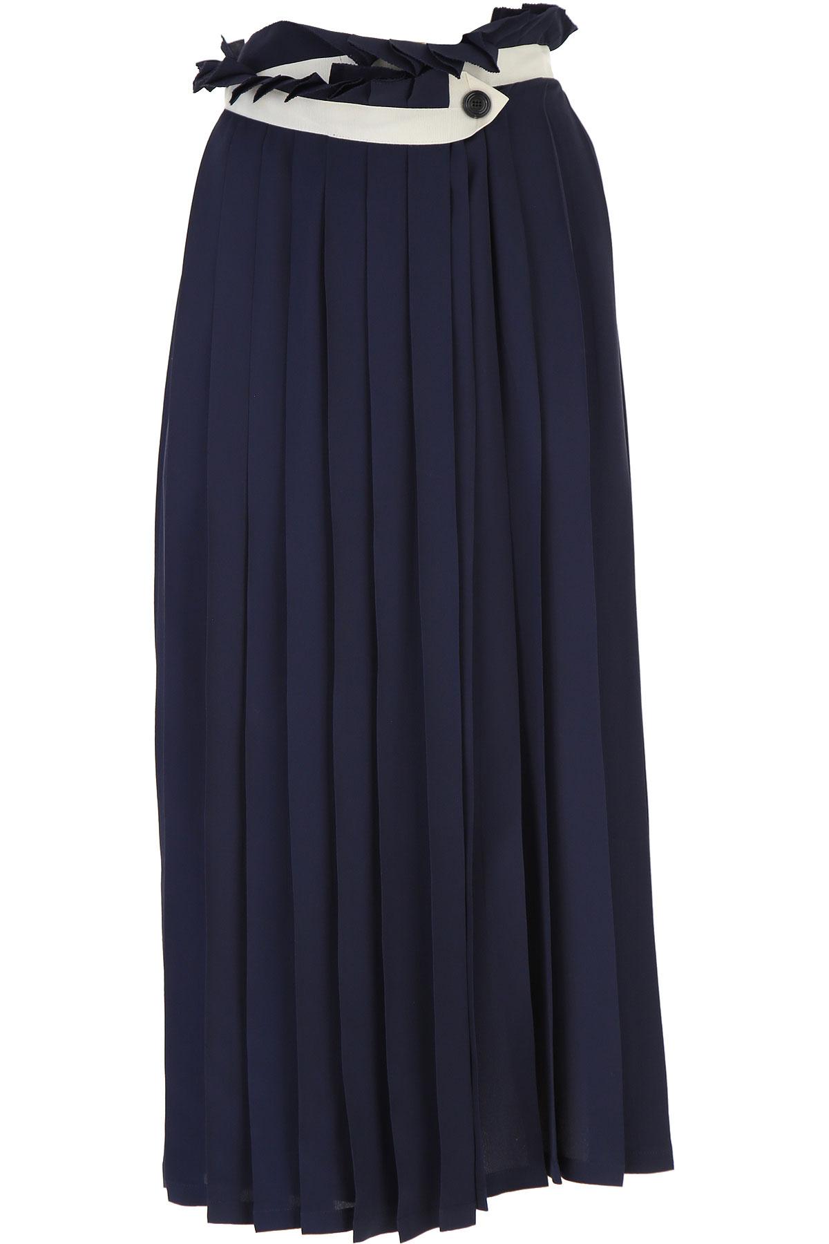 Golden Goose Skirt for Women On Sale, Navy Blue, acetate, 2019, XS (IT 38) S (IT 40) M (IT 42 )
