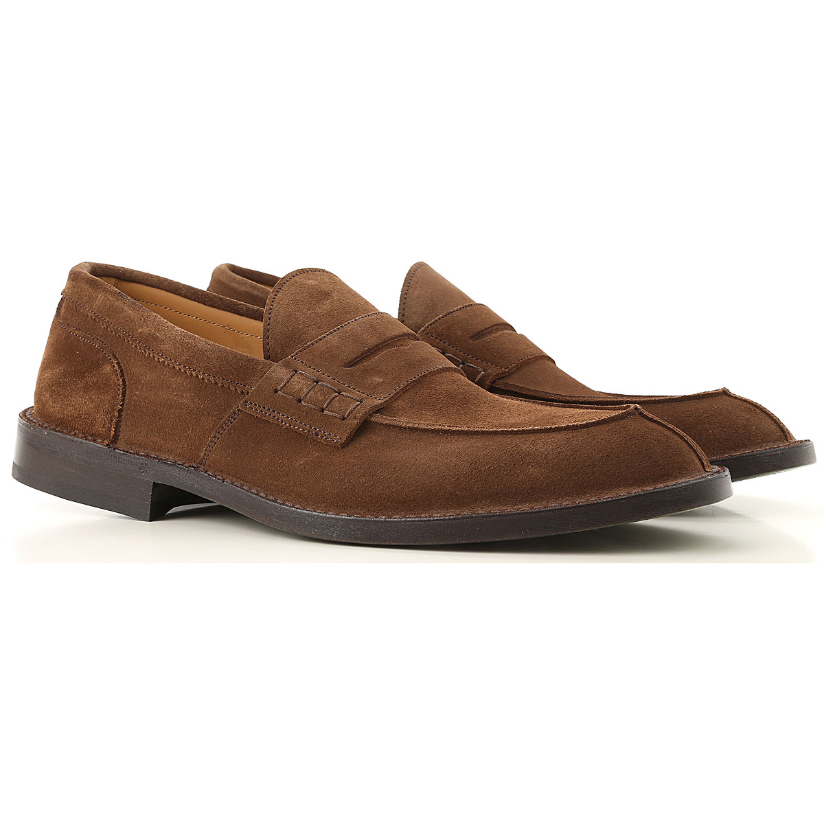 Green George Loafers for Men On Sale in Outlet, Mole, Suede leather, 2019, 10 11 9