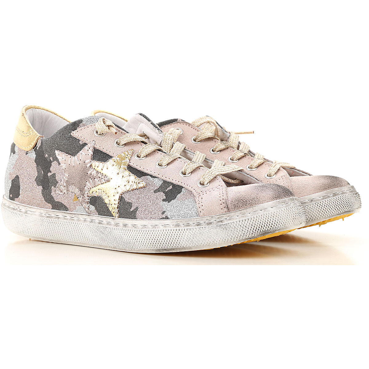 Image of 2Star Kids Shoes for Girls, Pink, Leather, 2017, 28 29 30 31 32 33 34 35 36 37 38