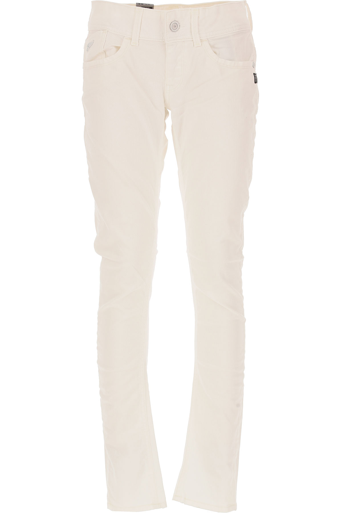 G-Star Jeans On Sale in Outlet, White, Cotton, 2017, 24 30