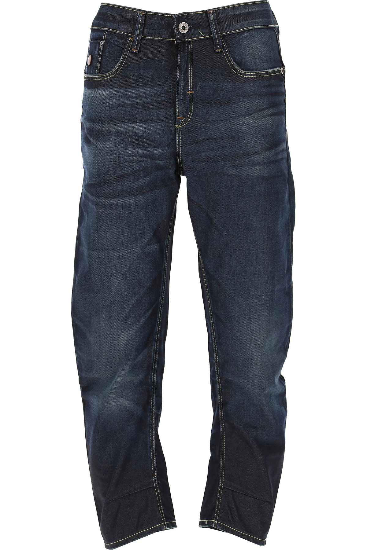 G-Star Jeans On Sale in Outlet, Dark Blue Denim, Cotton, 2019, 27 29