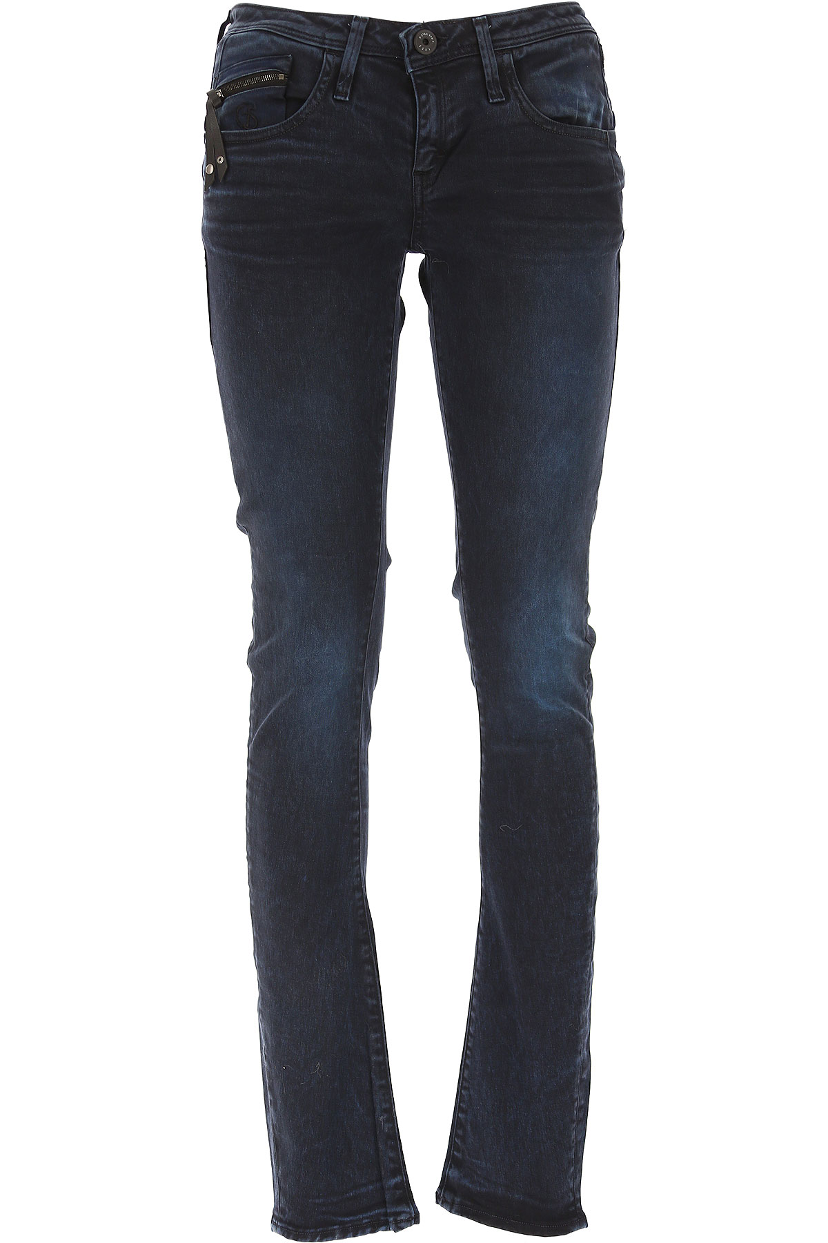 Image of G-Star Jeans On Sale in Outlet, Blue, Cotton, 2017, 26 27 28 29 30