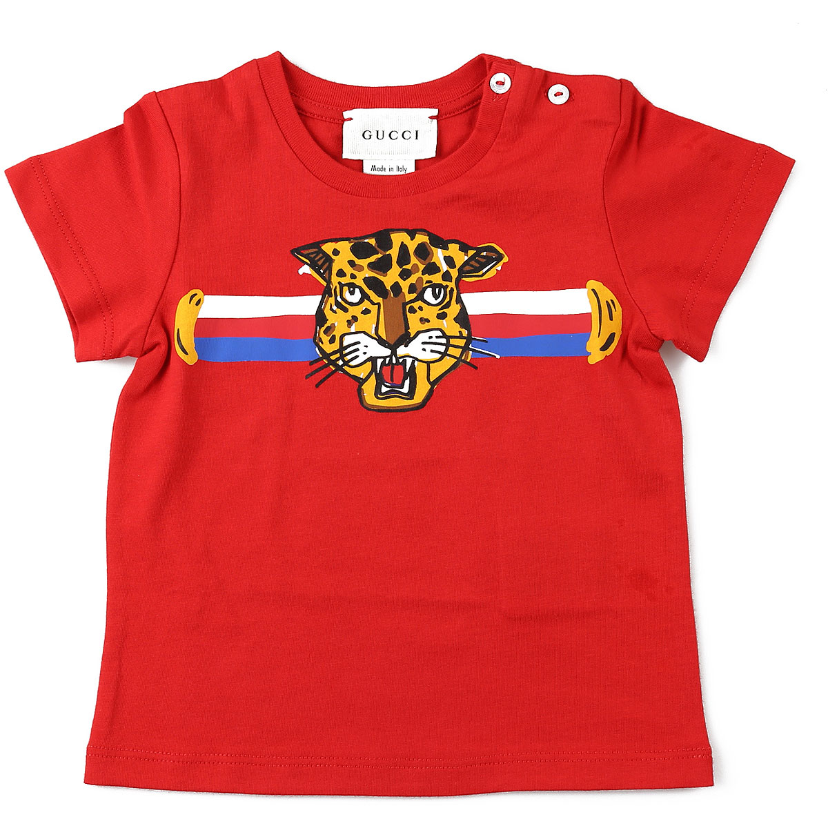 Gucci Baby T-Shirt for Boys On Sale, Red, Cotton, 2019, 24M 3Y 6M 9M
