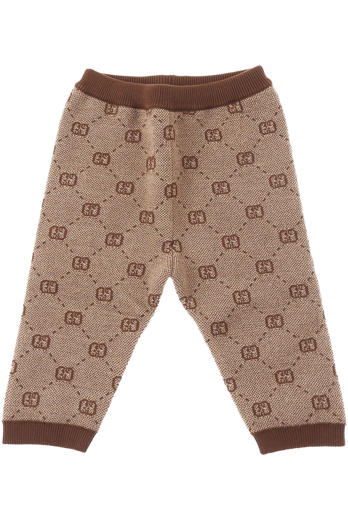 Gucci Baby Pants for Boys On Sale, Camel, Wool, 2019, 2Y 6M 9 M