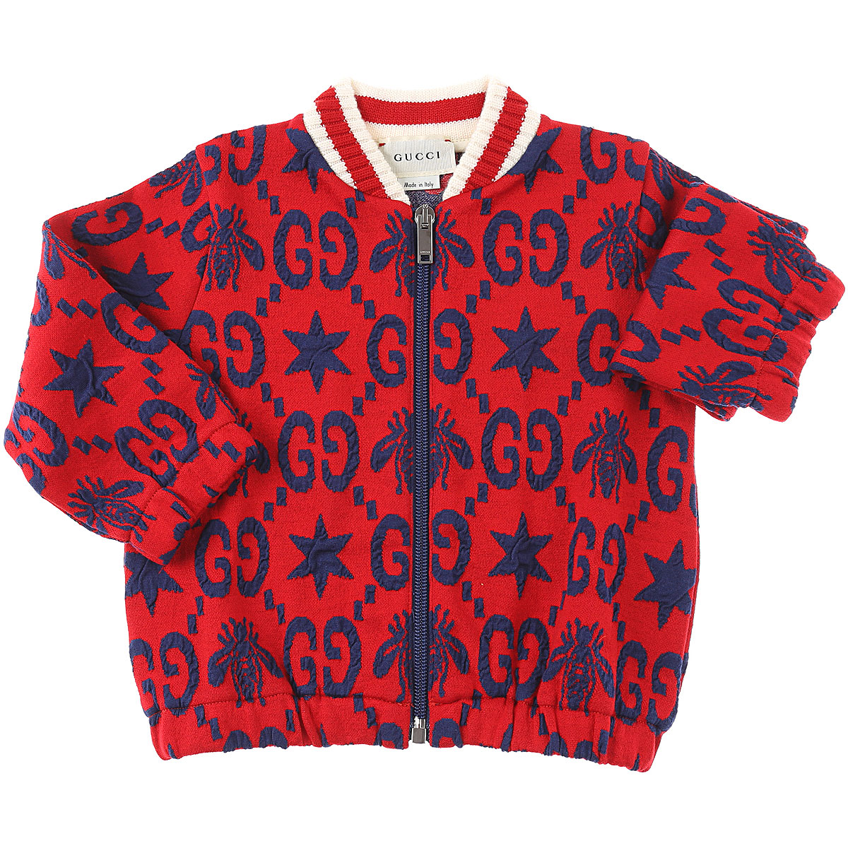 Gucci Baby Sweatshirts & Hoodies for Boys On Sale, Red, Cotton, 2019, 18M 3M 9M