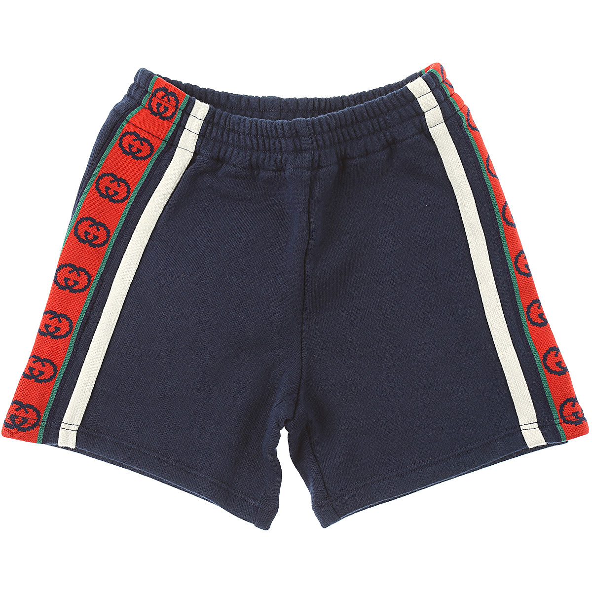 Gucci Baby Shorts for Boys On Sale, Ink Blue, Cotton, 2019, 2Y 3Y 9M