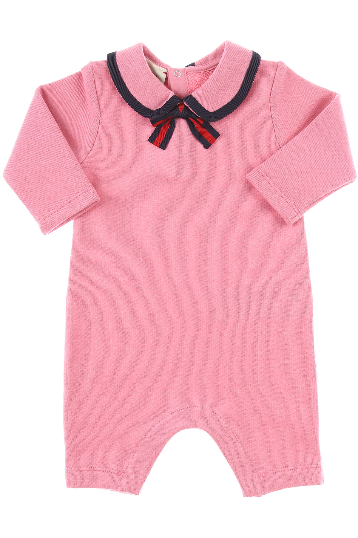 Image of Gucci Baby Clothing, Pink, Cotton, 2017, 1M 3M 6M