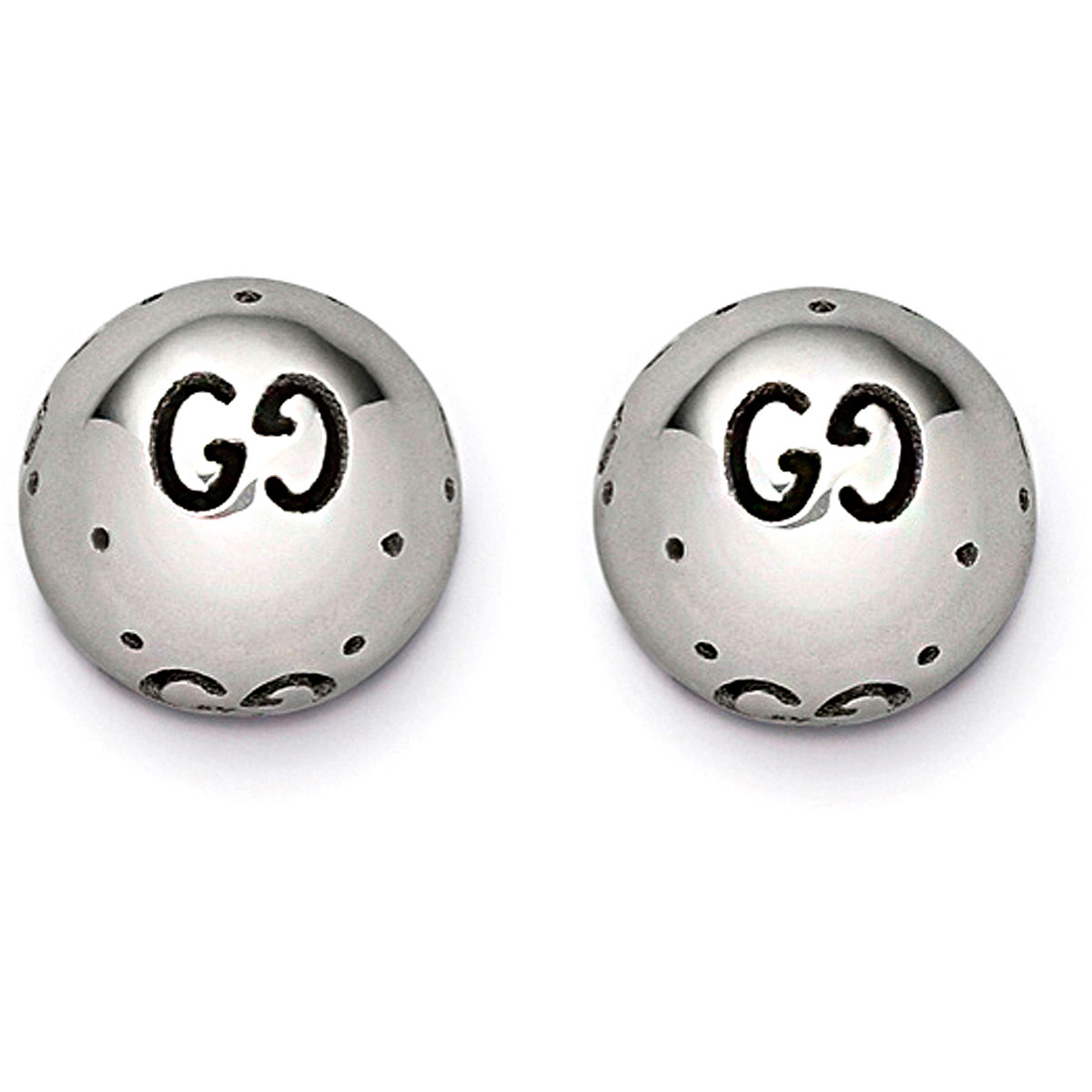 Image of Gucci Earrings for Women, White Gold, 18 kt White Gold, 2017