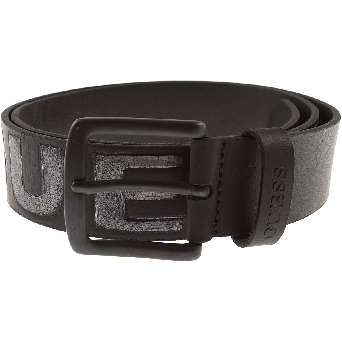 Image of Guess Belts, Black, Leather, 2017, S M L