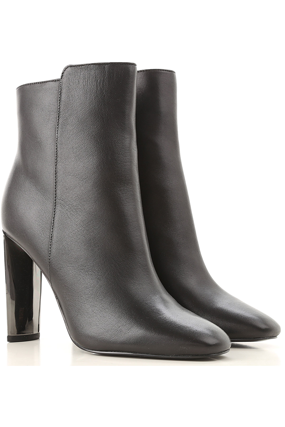 Image of Guess Boots for Women, Booties, Black, Leather, 2017, 6 7 8 9