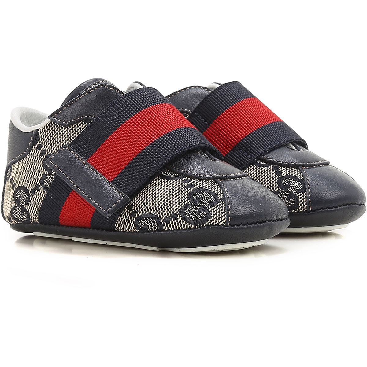 Image of Gucci Baby Shoes for Boys, Beige, Leather, 2017, ita-16 ita-17 ita-19