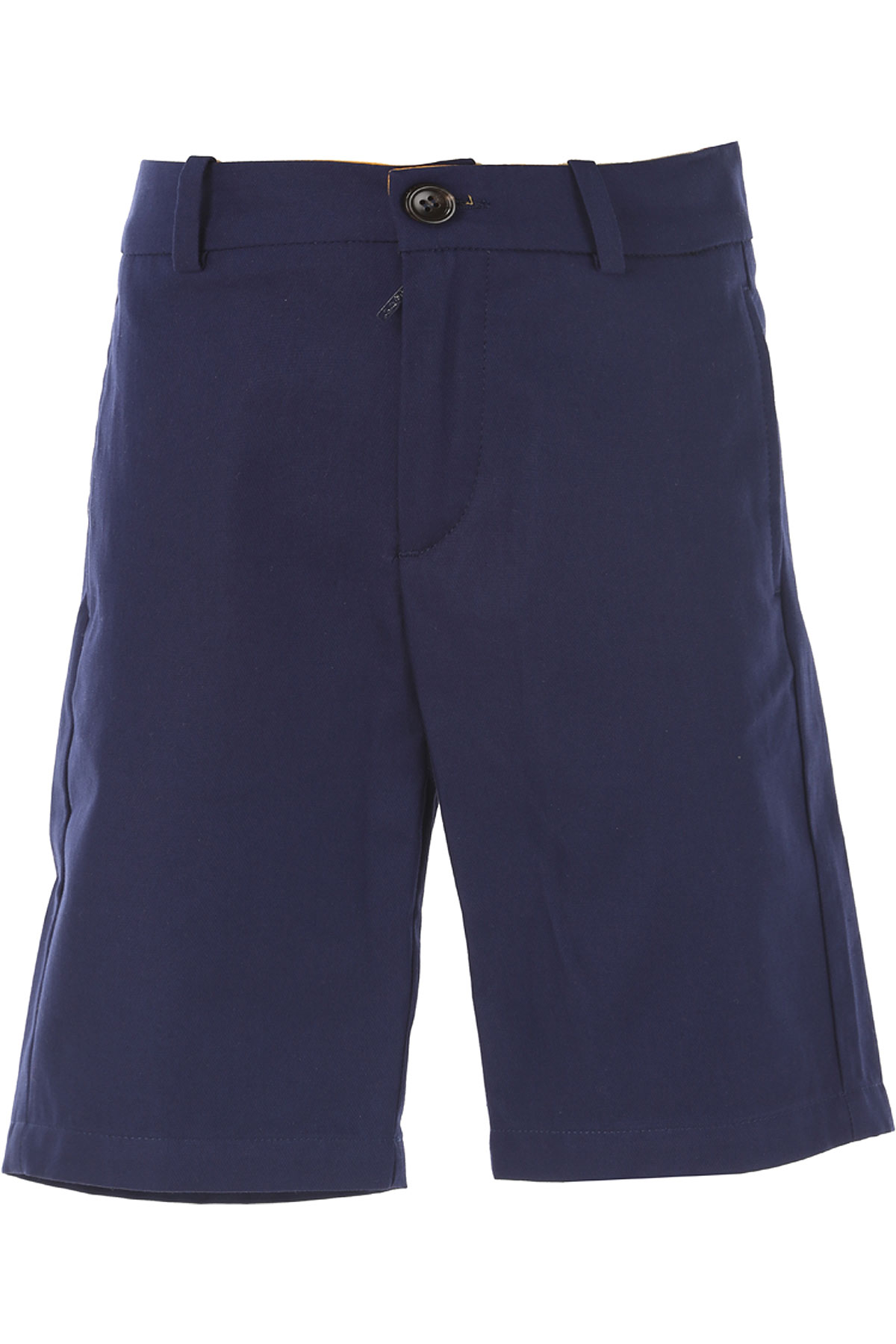 Image of Gucci Kids Shorts for Boys, Blue, Cotton, 2017, 4Y