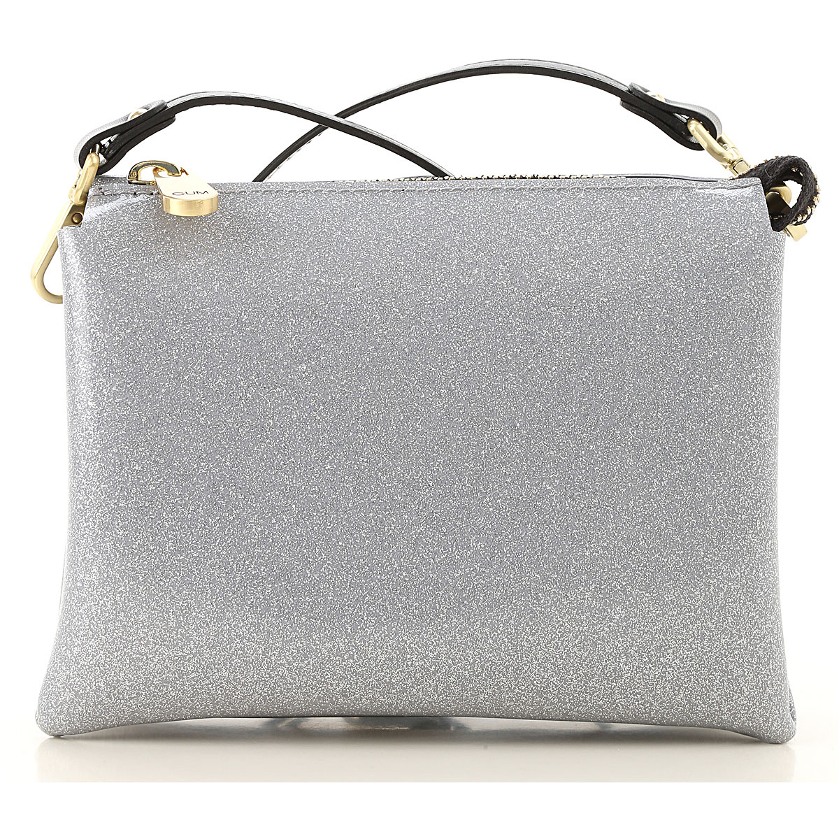 GUM Gianni Chiarini Design Shoulder Bag for Women On Sale, Silver, PVC, 2019