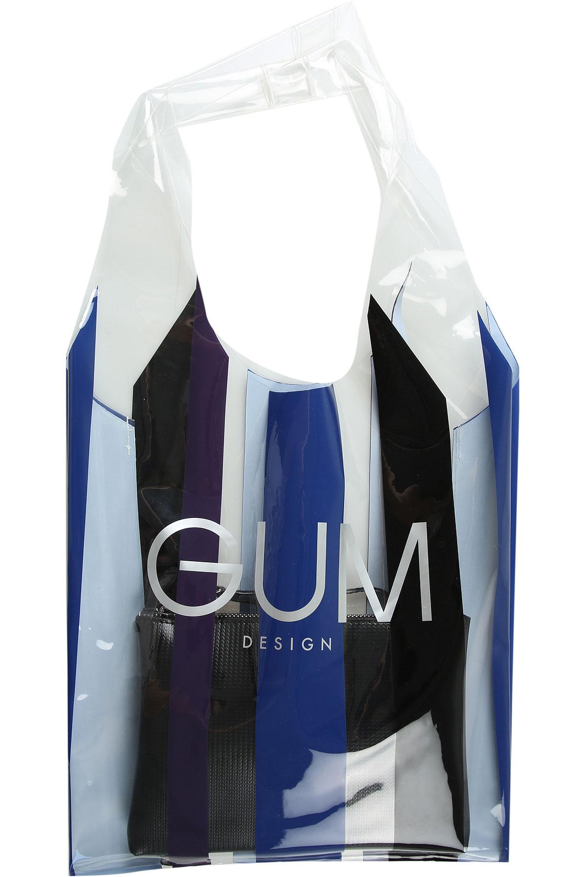 GUM Gianni Chiarini Design Tote Bag On Sale, Black, PVC, 2019