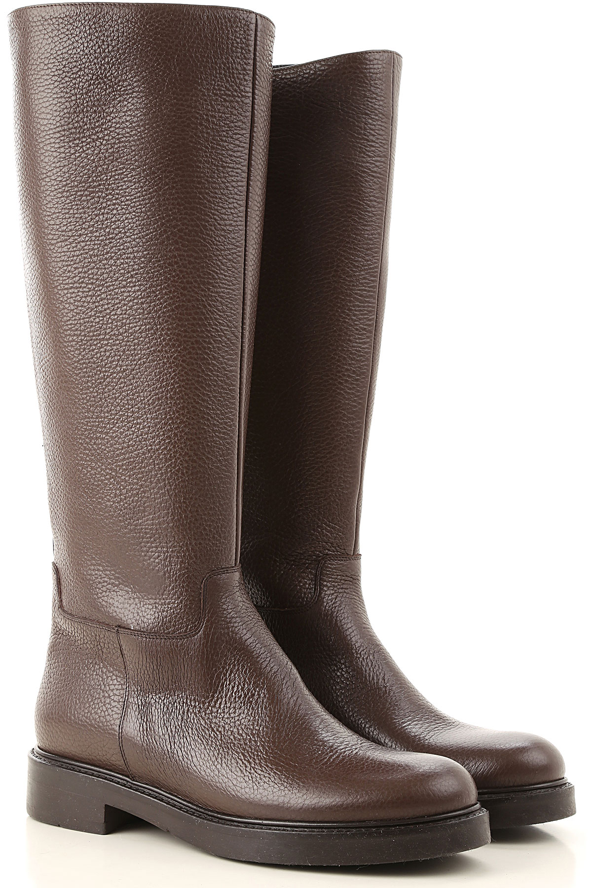 Guglielmo Rotta Boots for Women, Booties On Sale, Cacao, Leather, 2019, 6 7 8 9