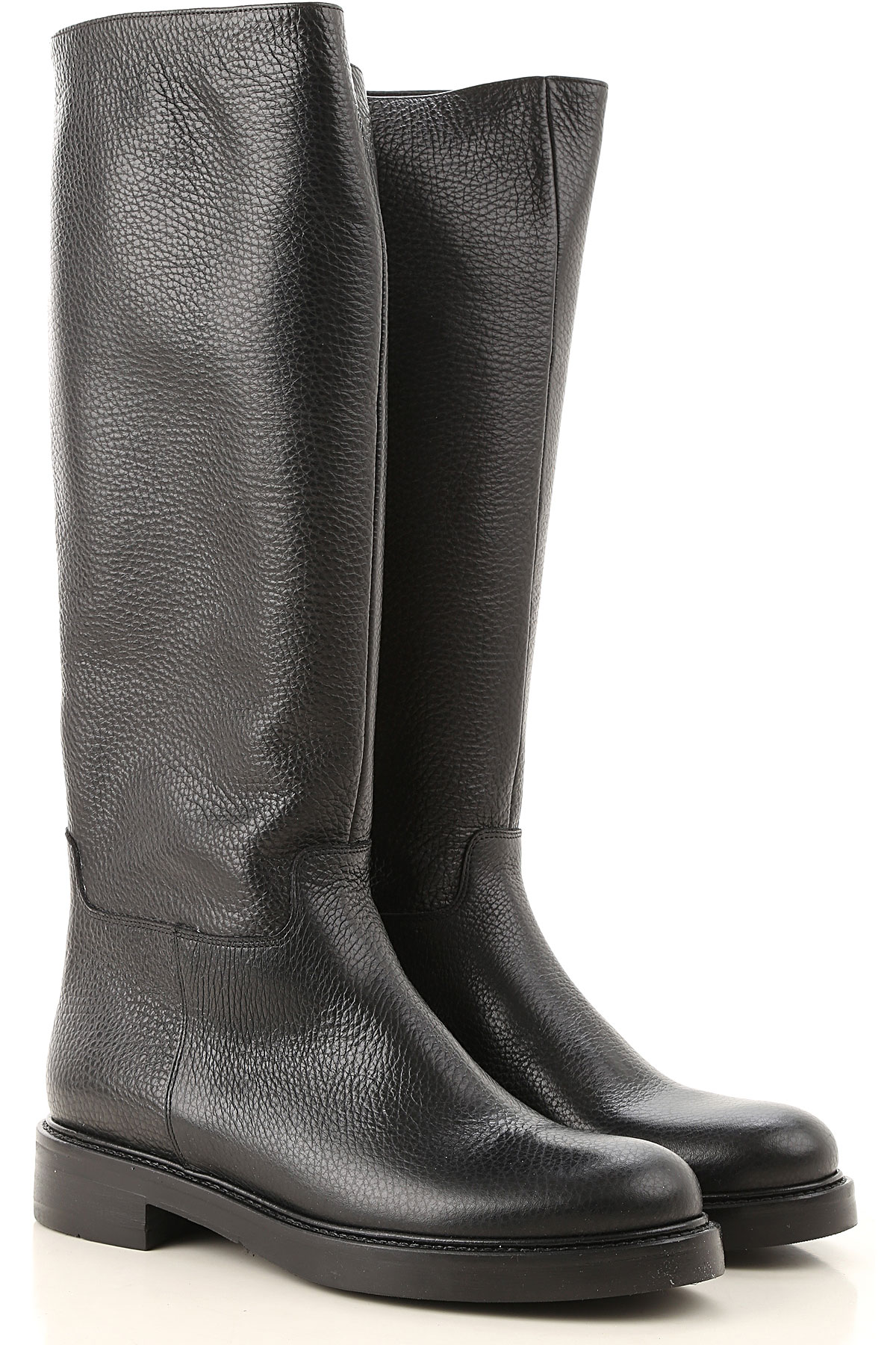 Guglielmo Rotta Boots for Women, Booties On Sale, Black, Leather, 2019, 10 6 8 9