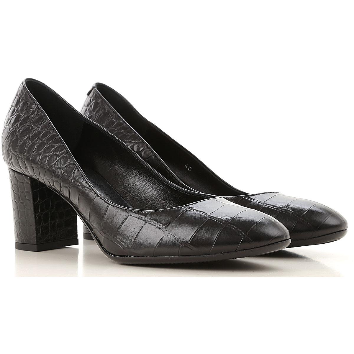 Guglielmo Rotta Pumps & High Heels for Women On Sale, Black, Leather, 2019, 10 6 7 8