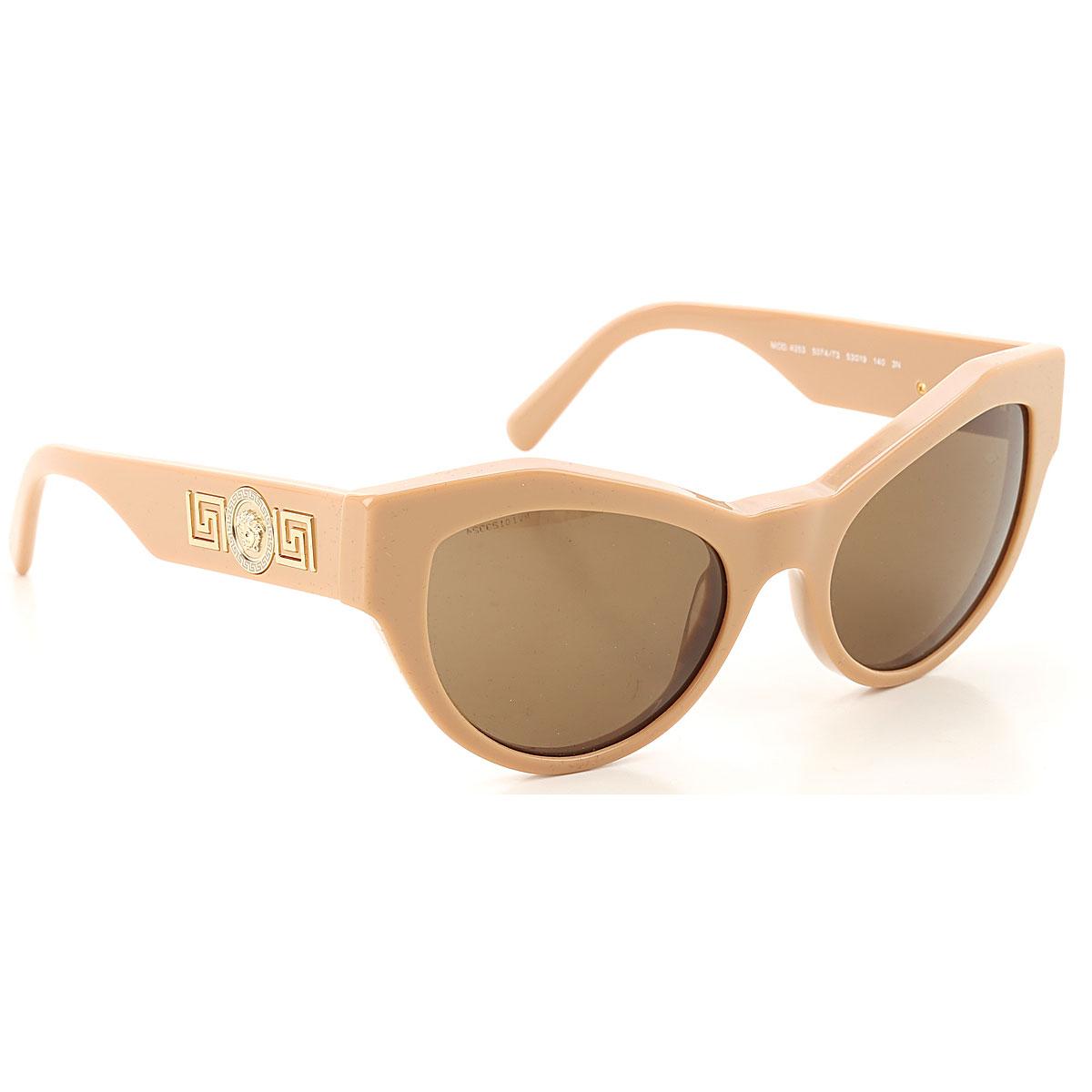 Gianni Versace Sunglasses On Sale, Beige, 2019