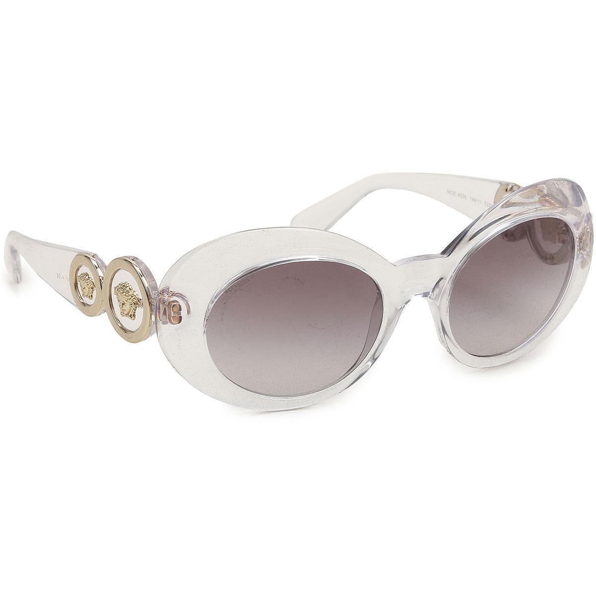 Gianni Versace Sunglasses On Sale, Crystal, 2019