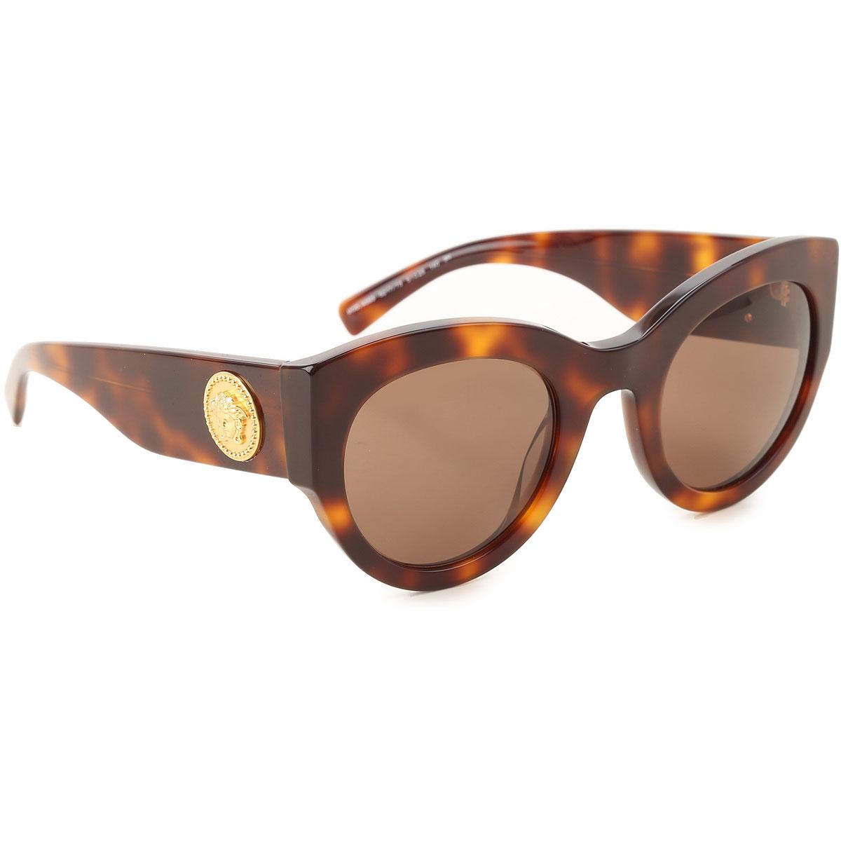 Gianni Versace Sunglasses On Sale, Havana, 2019