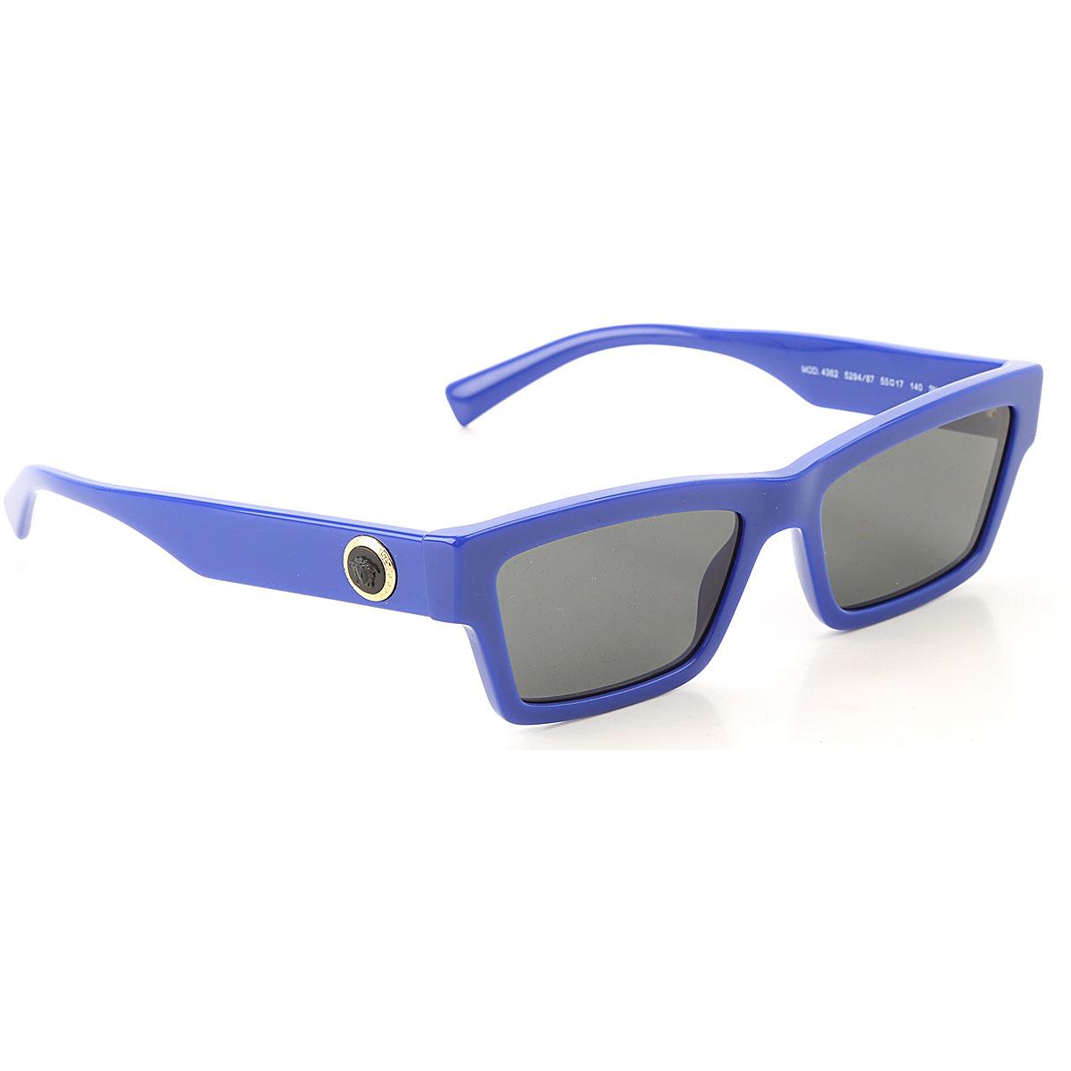 Gianni Versace Sunglasses On Sale, Electric Blue, 2019