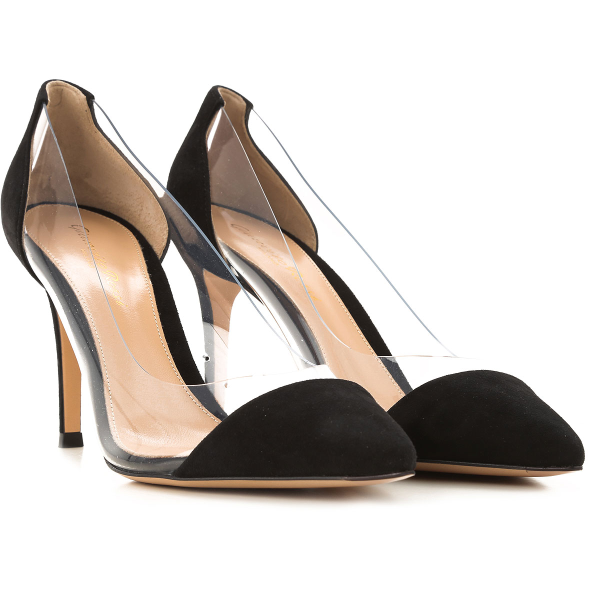 Gianvito Rossi Pumps & High Heels for Women On Sale, Black, Suede leather, 2019, 11 6
