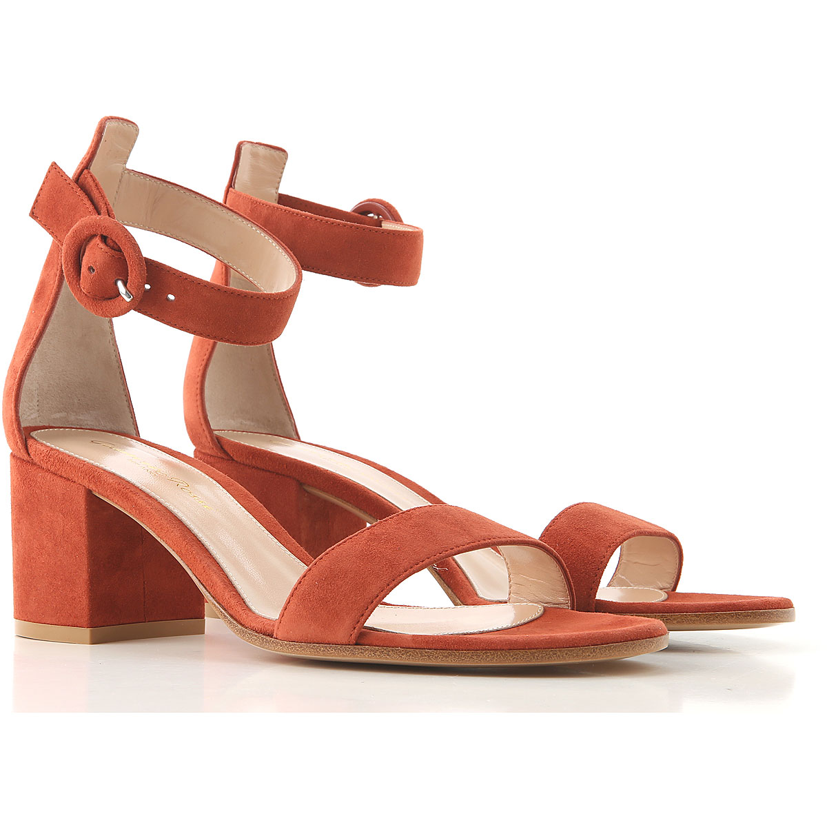 Gianvito Rossi Sandals for Women On Sale, Rust, Suede leather, 2019, 10 11 6 6.5 7 8.5 9 9.5