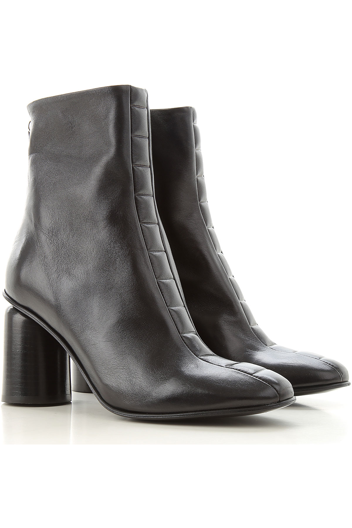 Halmanera Boots for Women, Booties On Sale, Black, Leather, 2019, 10 11 5 6 6.5 8 9 9.5