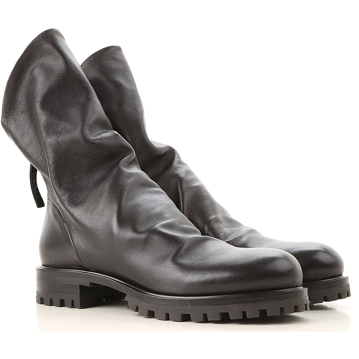 Image of Halmanera Boots for Women, Booties, Black, Leather, 2017, 10 7