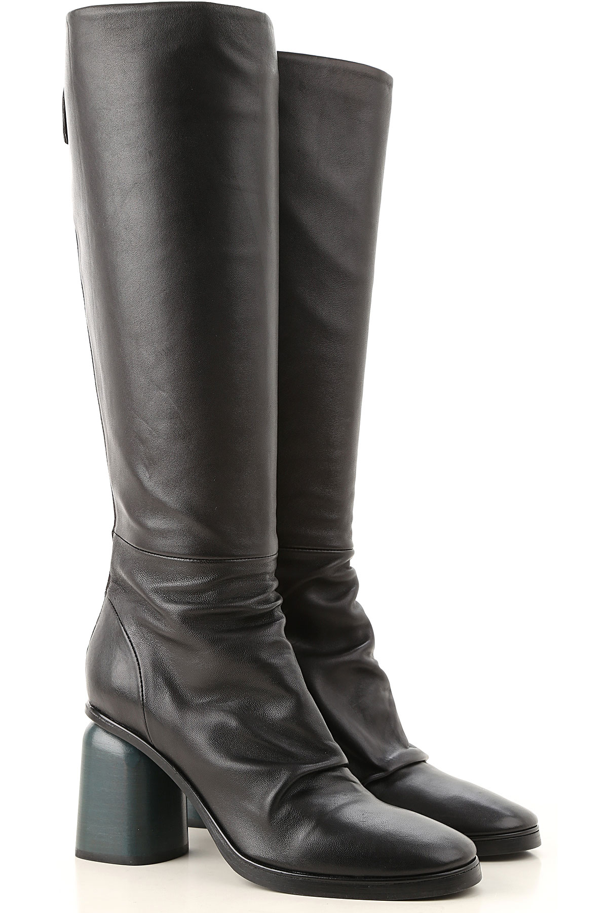 Image of Halmanera Boots for Women, Booties, Black, Leather, 2017, 6 7 8 9