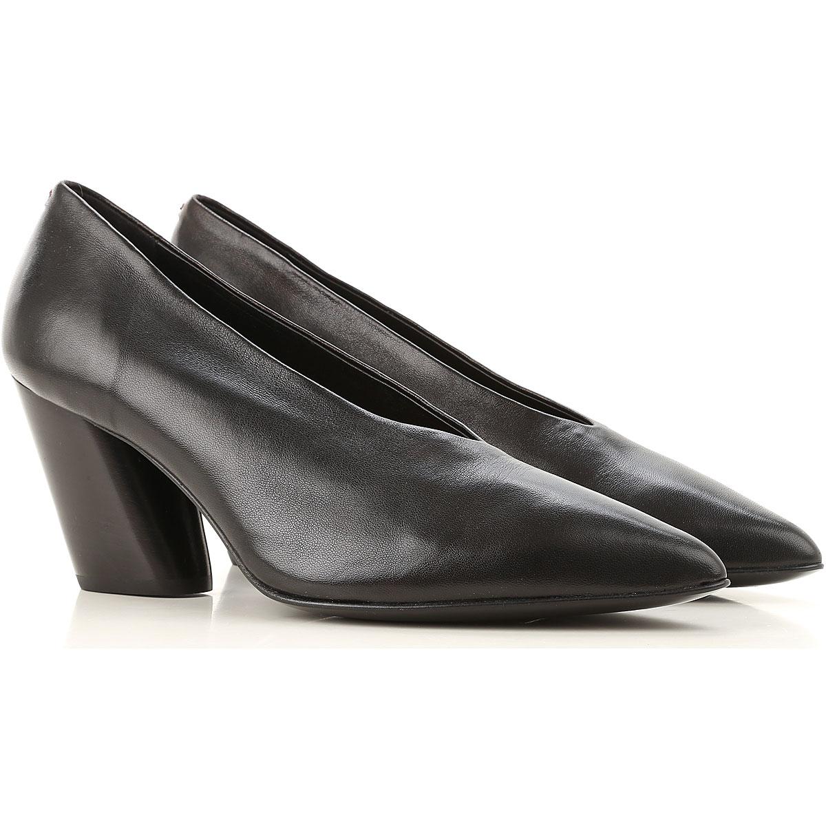 Halmanera Pumps & High Heels for Women, Black, Leather, 2019, 6 7 8 8.5 9