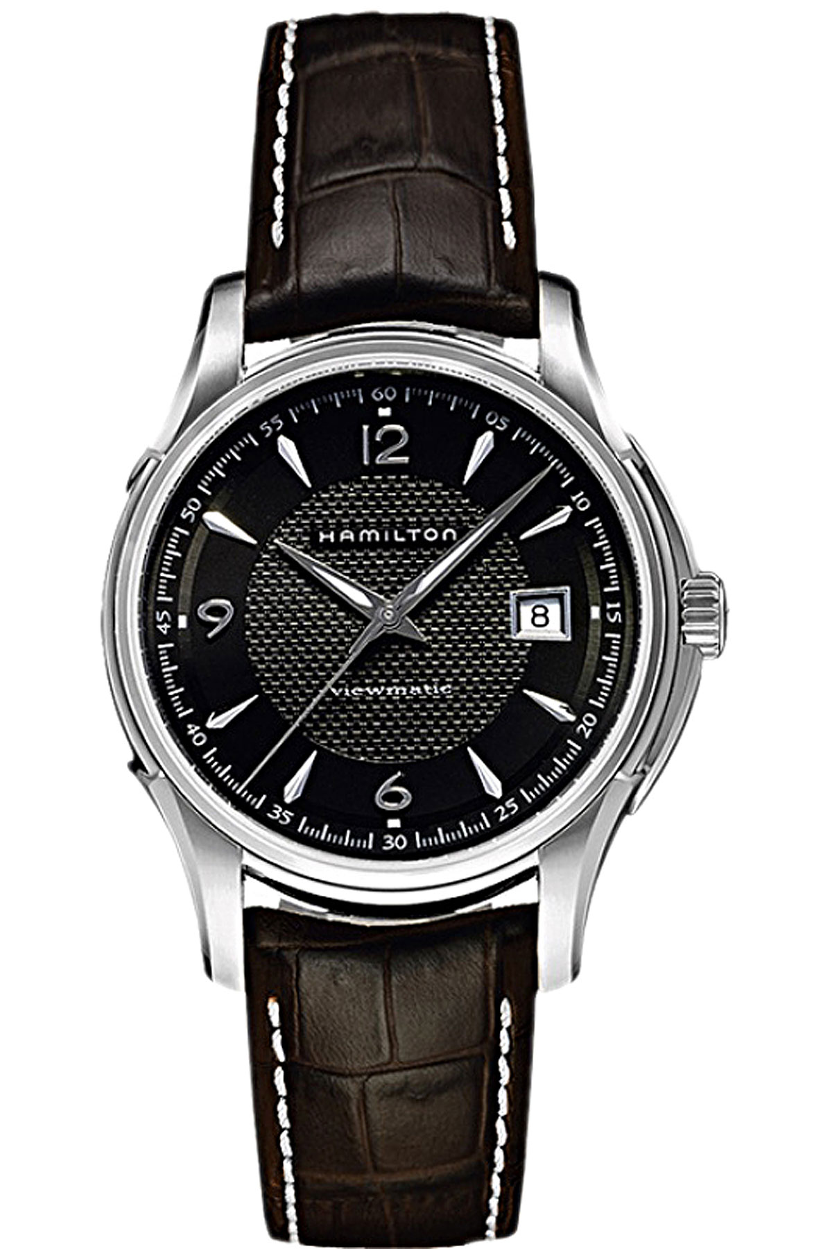 Hamilton Watch for Men On Sale, Brown, Leather, 2019