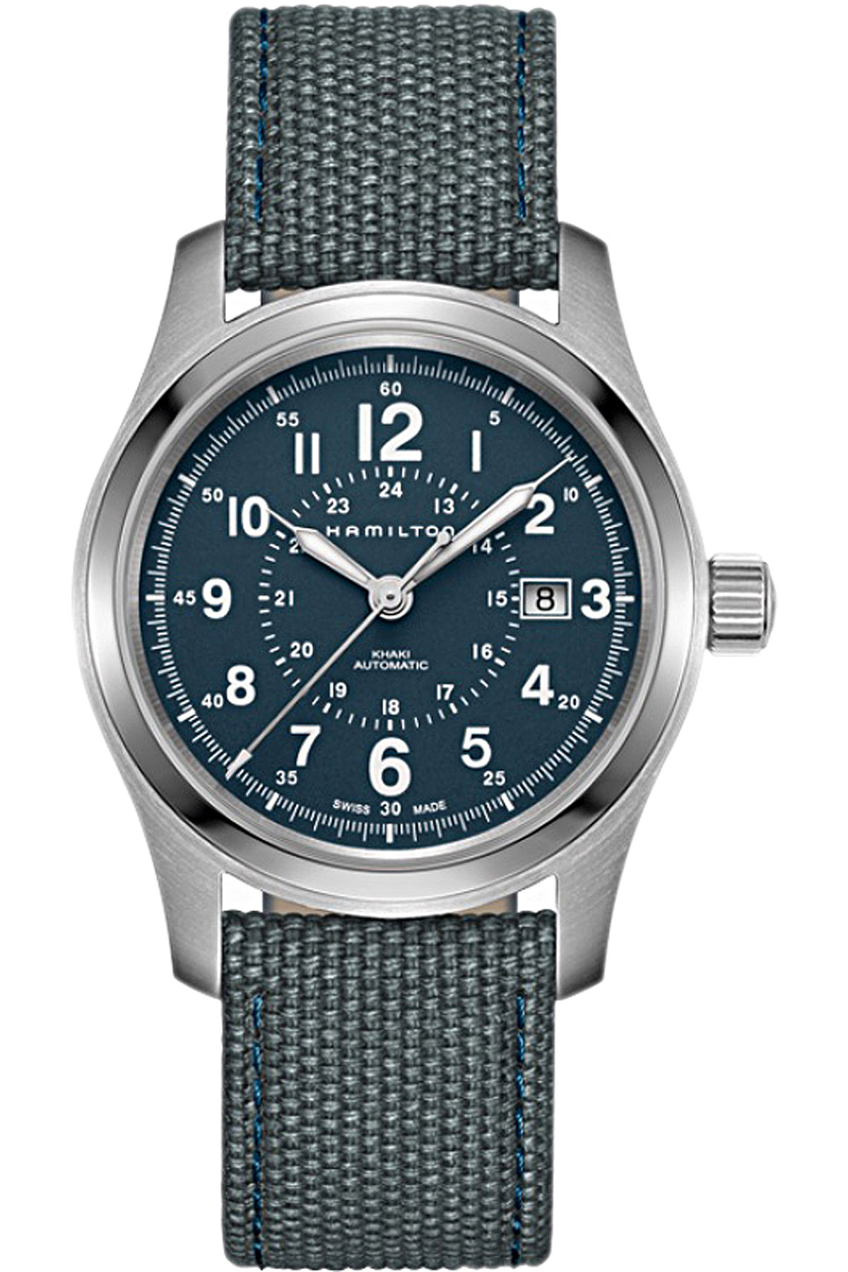 Hamilton Watch for Men On Sale, Blue, Stainless Steel, 2019