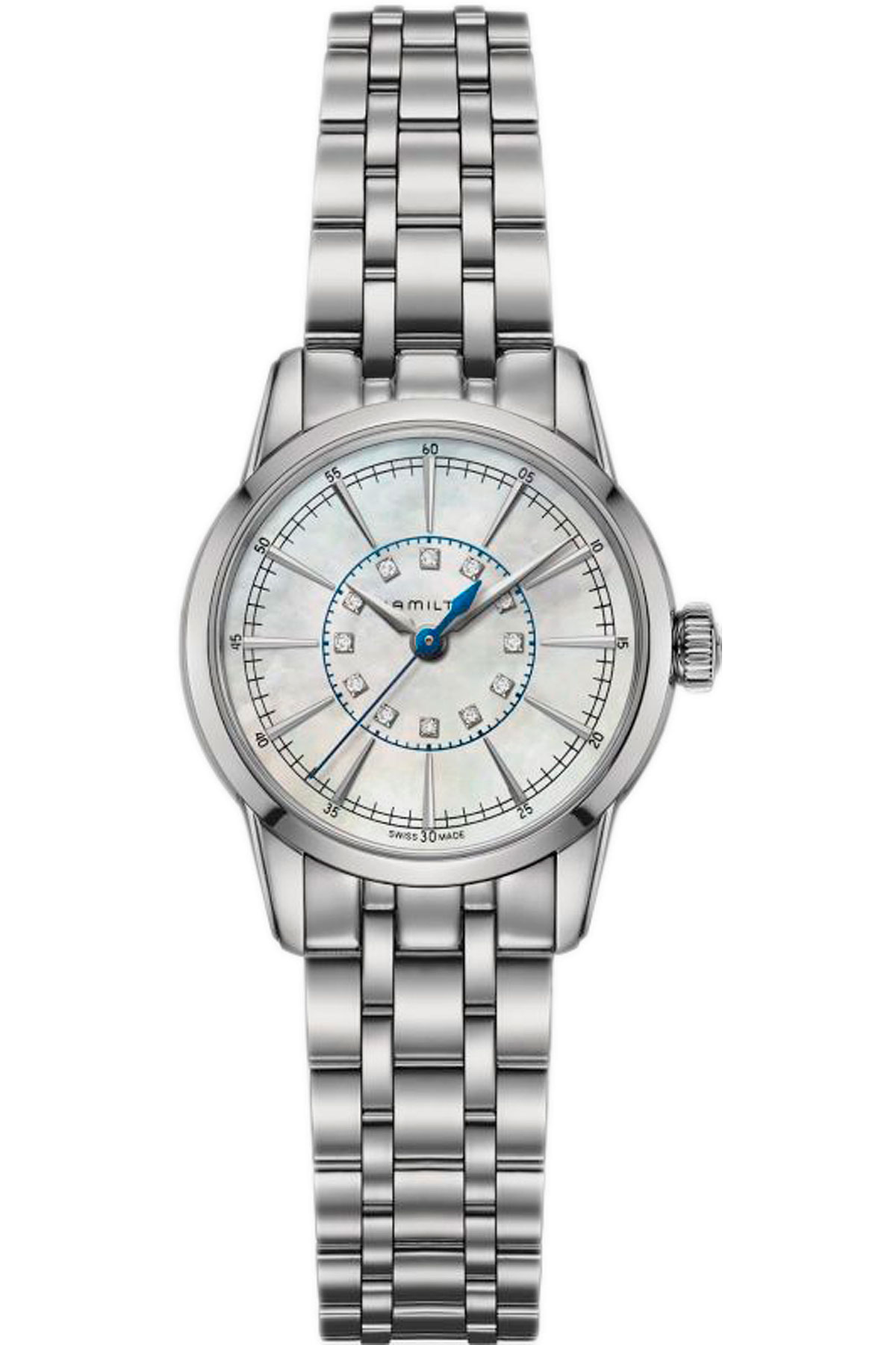 Hamilton Watch for Women On Sale, Silver, Stainless Steel, 2019