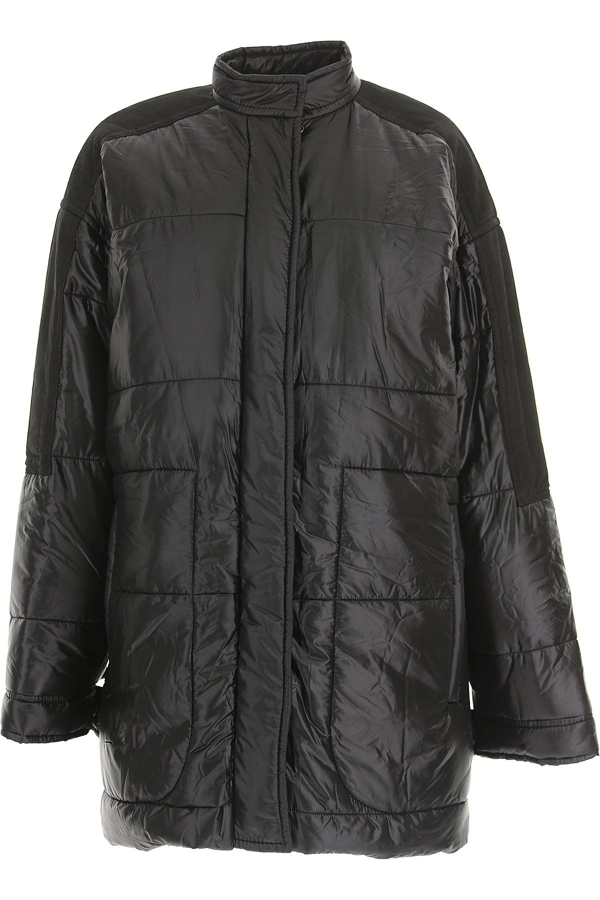 032c Down Jacket for Women, Puffer Ski Jacket On Sale, Black, Nylon, 2017, 10 2 4 6 8