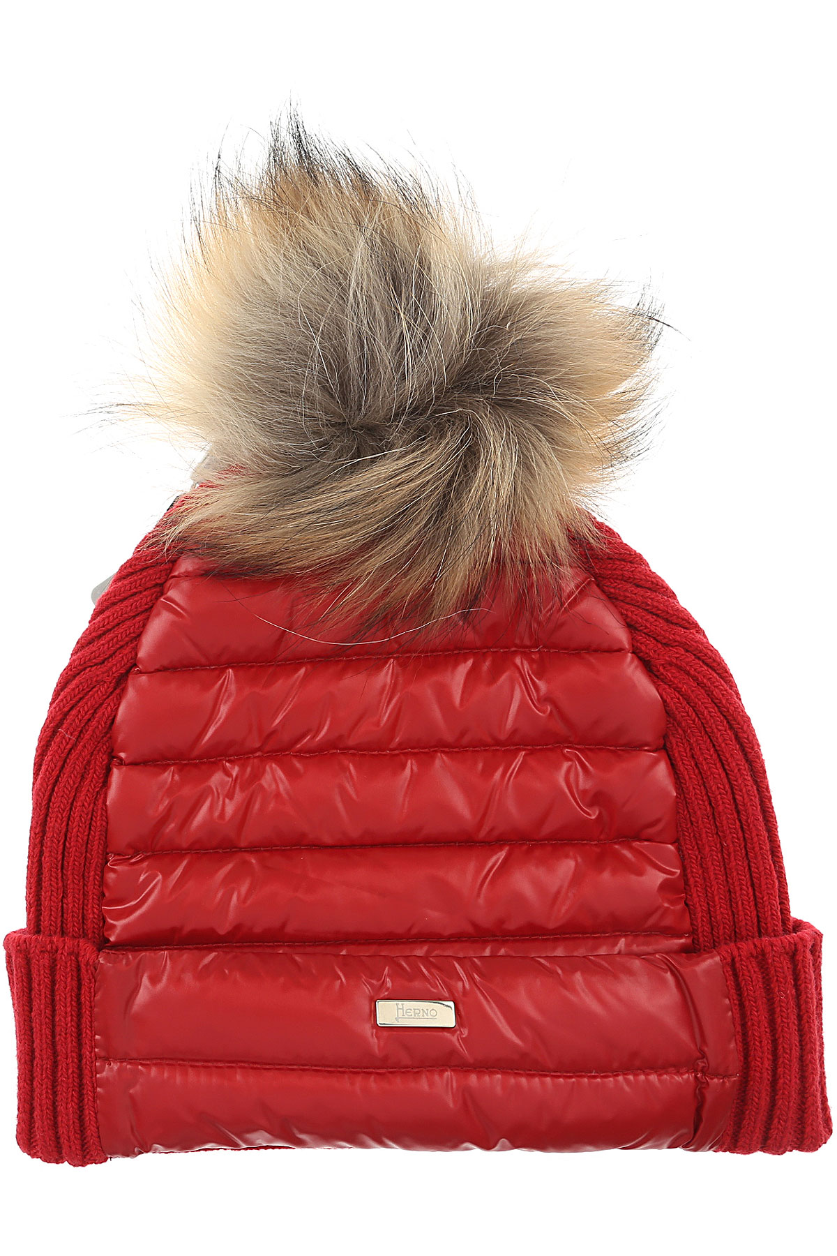 Image of Herno Kids Hats for Girls, Red, Wool, 2017, M L