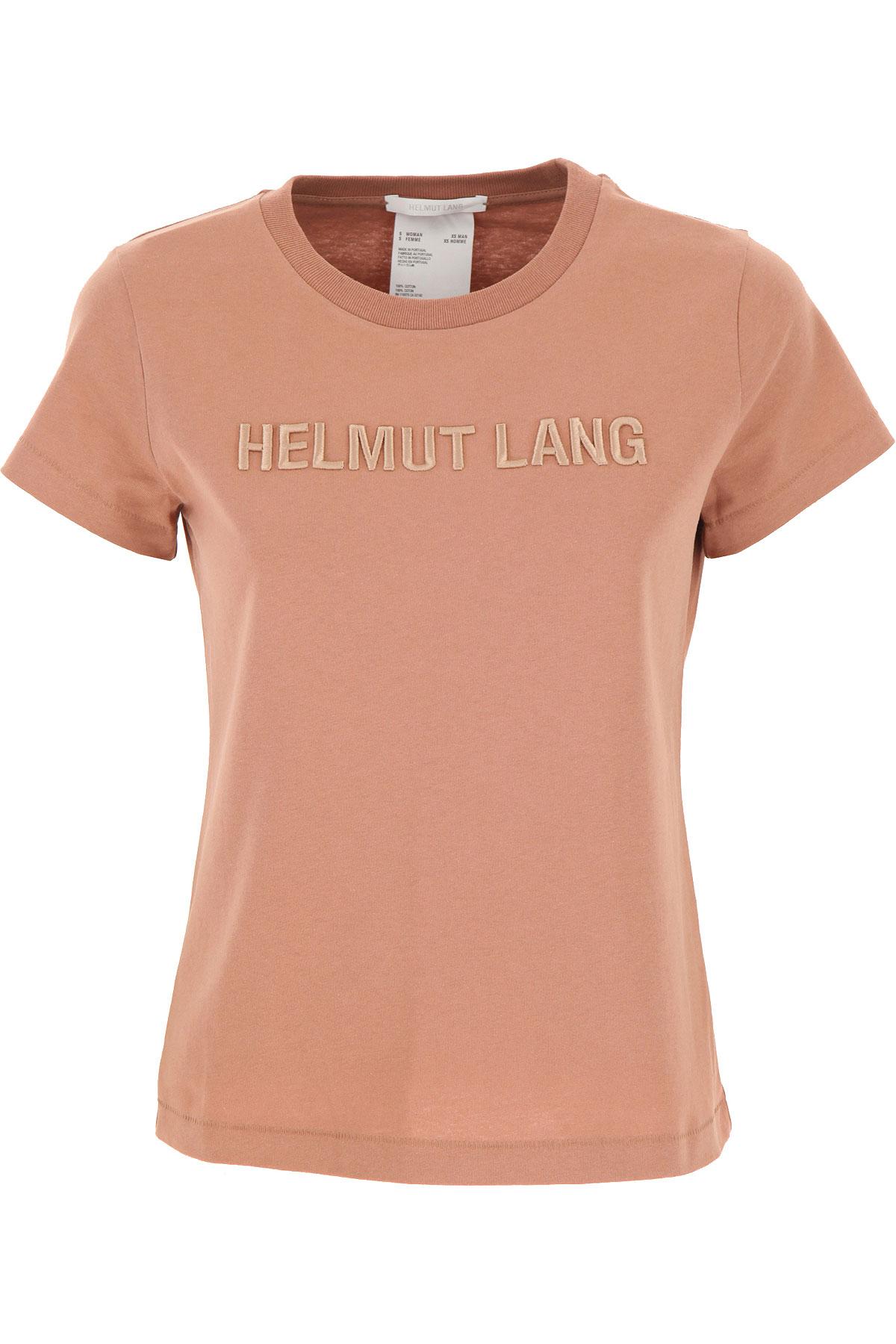 Helmut Lang T-Shirt for Women On Sale, Tan, Cotton, 2019, 4 6 8