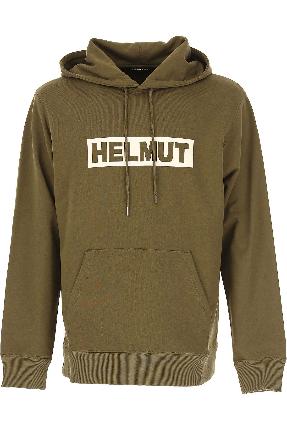 Image of Helmut Lang Sweatshirt for Men, Kaki, Cotton, 2017, L S