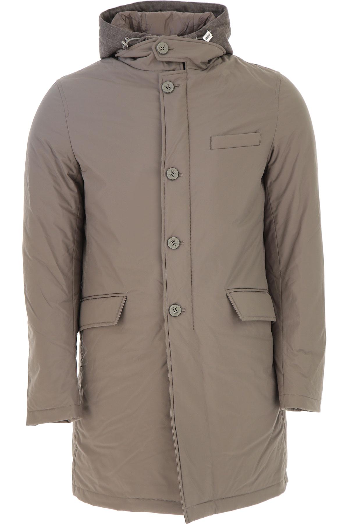 chaqueta de Herno Xl abajo abajo para M 2017 L esquí medio chaqueta gris Puffer hombres qwRIRrZA