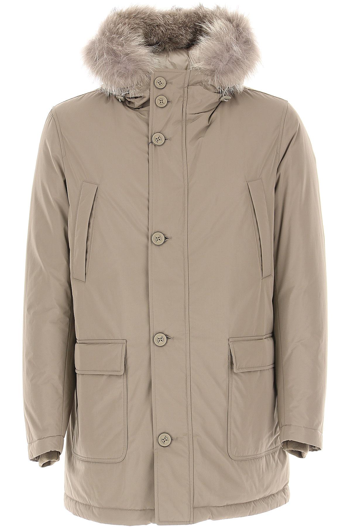 Herno Down Jacket for Men, Puffer Ski Jacket On Sale, Beige, Down, 2019, L XL