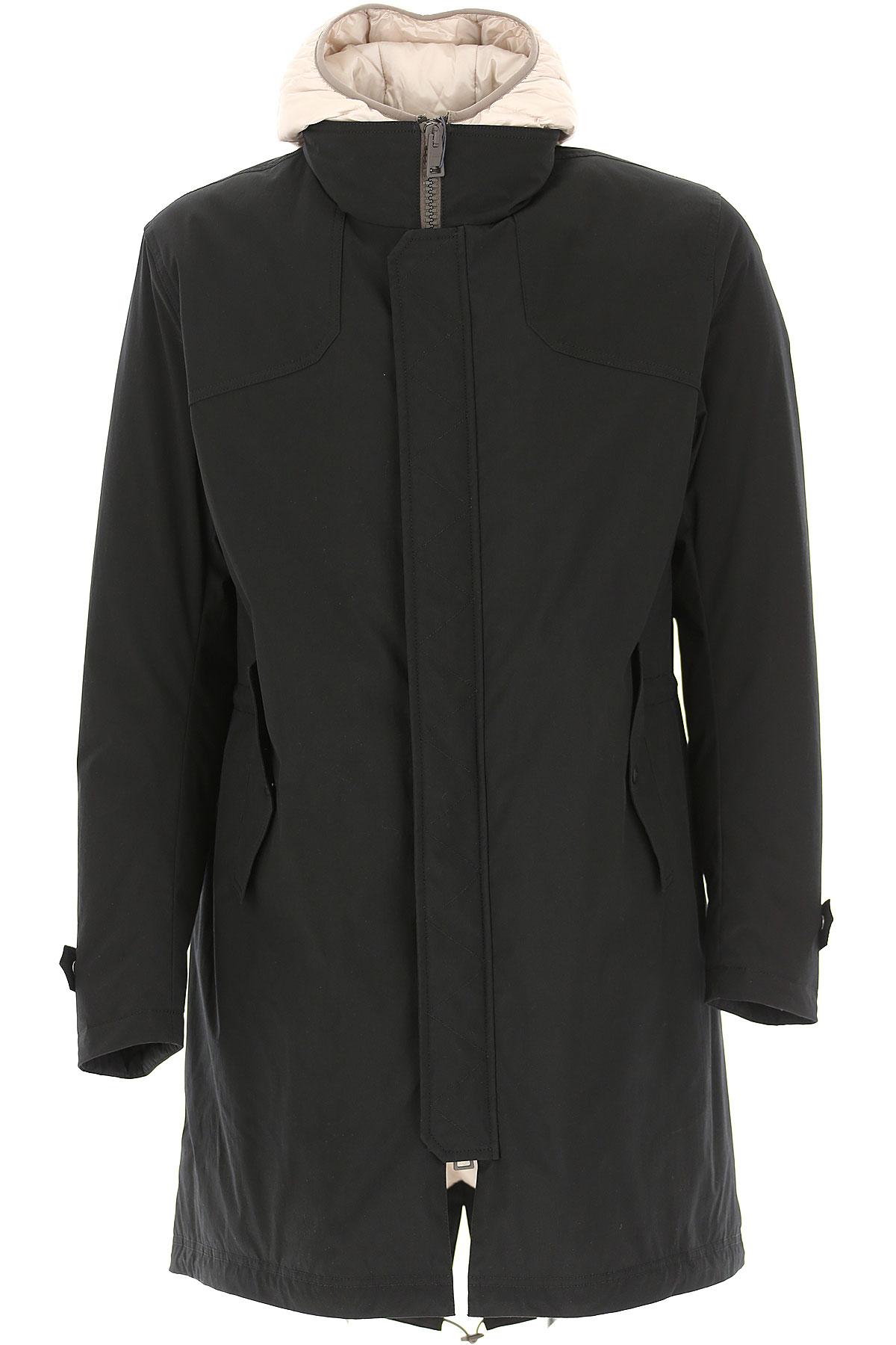 Herno Down Jacket for Men, Puffer Ski Jacket On Sale, Black, Down, 2019, L M XL