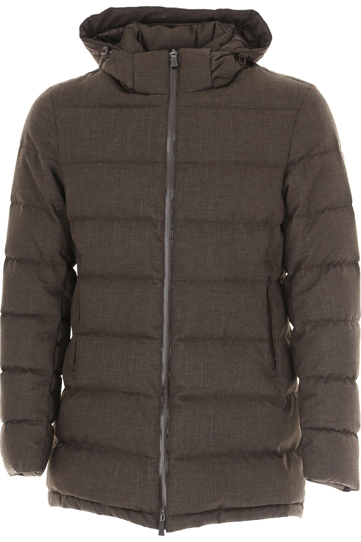 Herno Down Jacket for Men, Puffer Ski Jacket On Sale, Cacao, polyester, 2019, M XXL