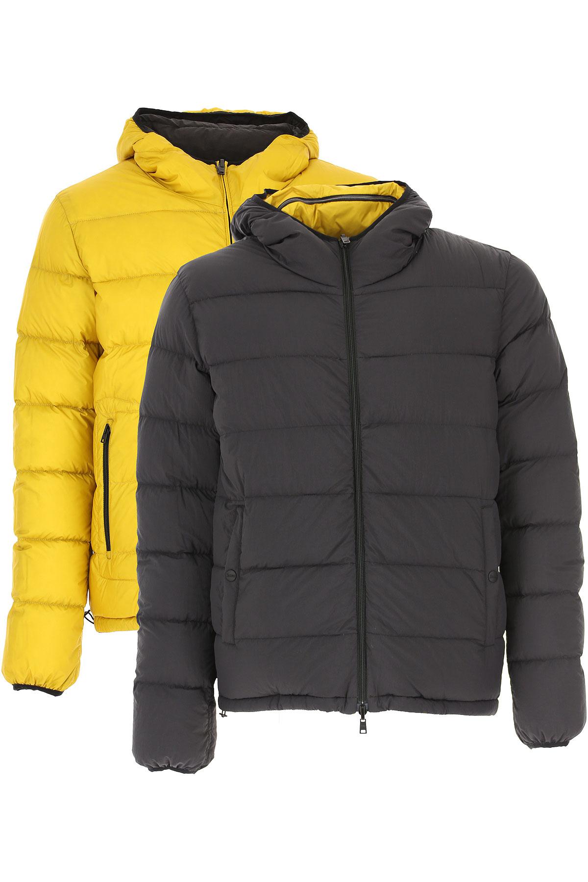 Herno Down Jacket for Men, Puffer Ski Jacket On Sale, Navy Blue, polyamide, 2019, L M XL