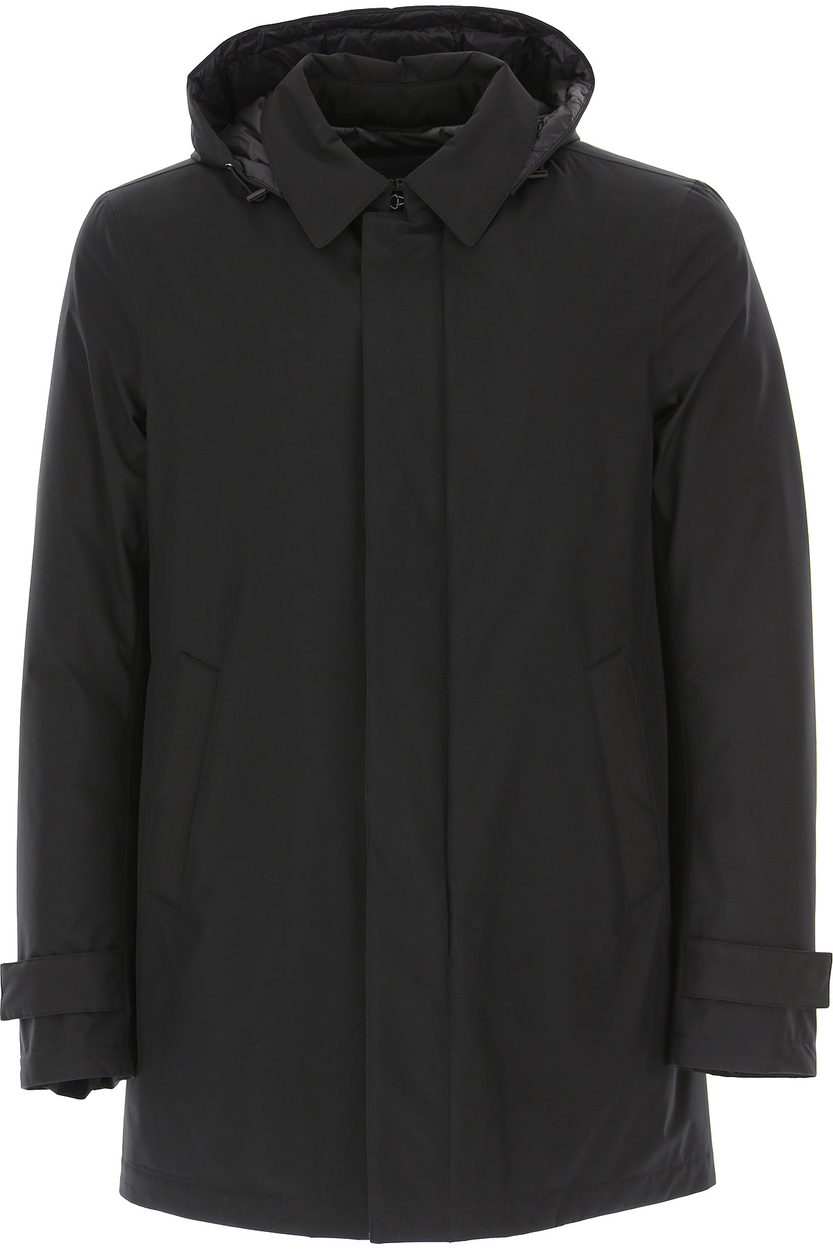 Herno Down Jacket for Men, Puffer Ski Jacket On Sale, Black, polyestere, 2019, L XL