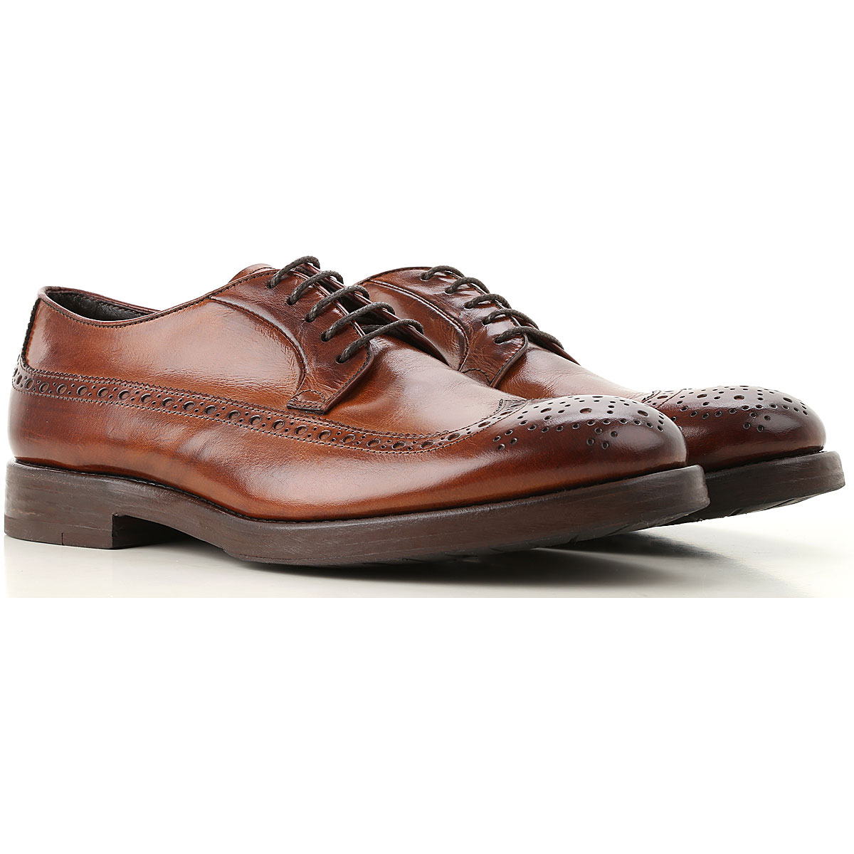 Image of Henderson Lace Up Shoes for Men Oxfords, Derbies and Brogues, Brown, Leather, 2017, 10 10.5 11 11.5 12 8 8.5 9 9.5