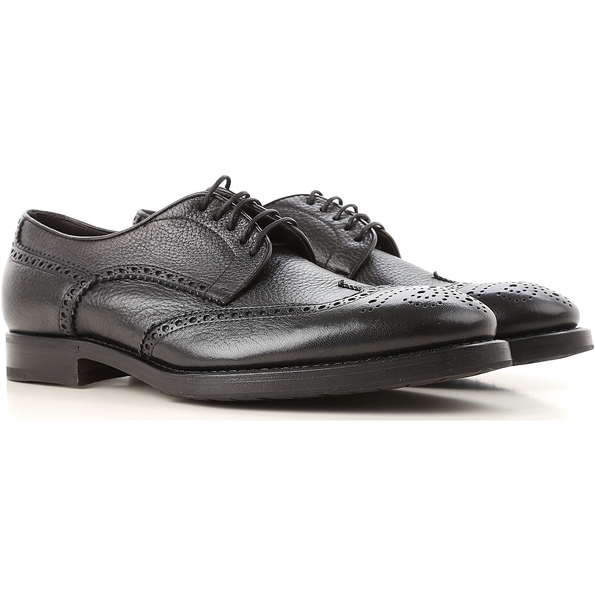 Image of Henderson Lace Up Shoes for Men Oxfords, Derbies and Brogues, Black, Leather, 2017, 7 7.5 8 8.5 9