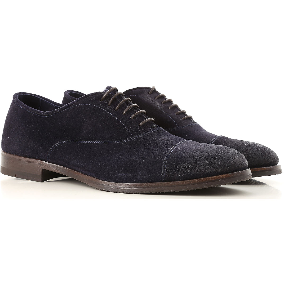 Image of Henderson Lace Up Shoes for Men Oxfords, Derbies and Brogues, Midnight, suede, 2017, 10 10.5 11 11.5 7.5 8 8.5 9 9.5