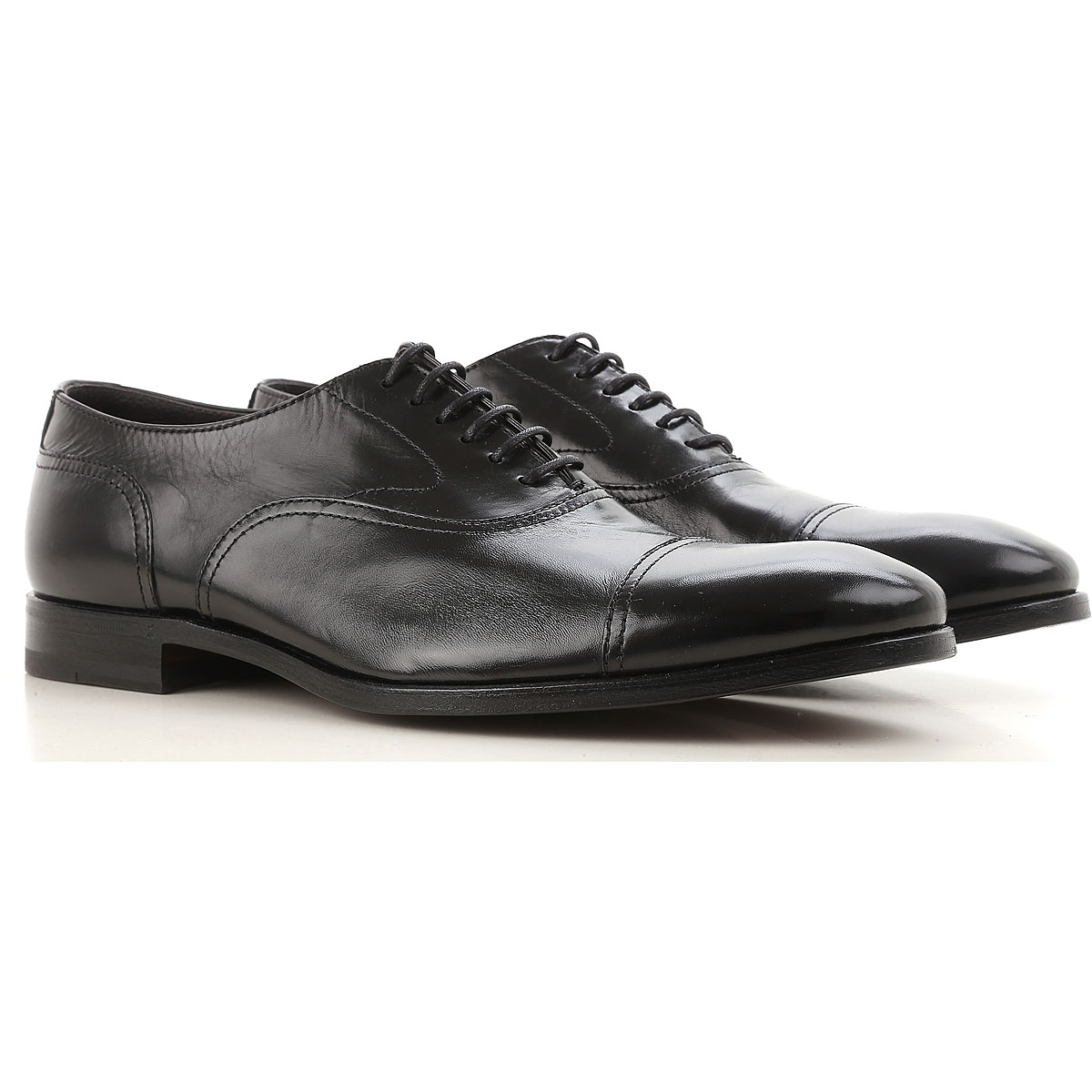 Image of Henderson Lace Up Shoes for Men Oxfords, Derbies and Brogues, Black, Leather, 2017, 10 10.5 11 6 7 7.5 8 8.5 9 9.5