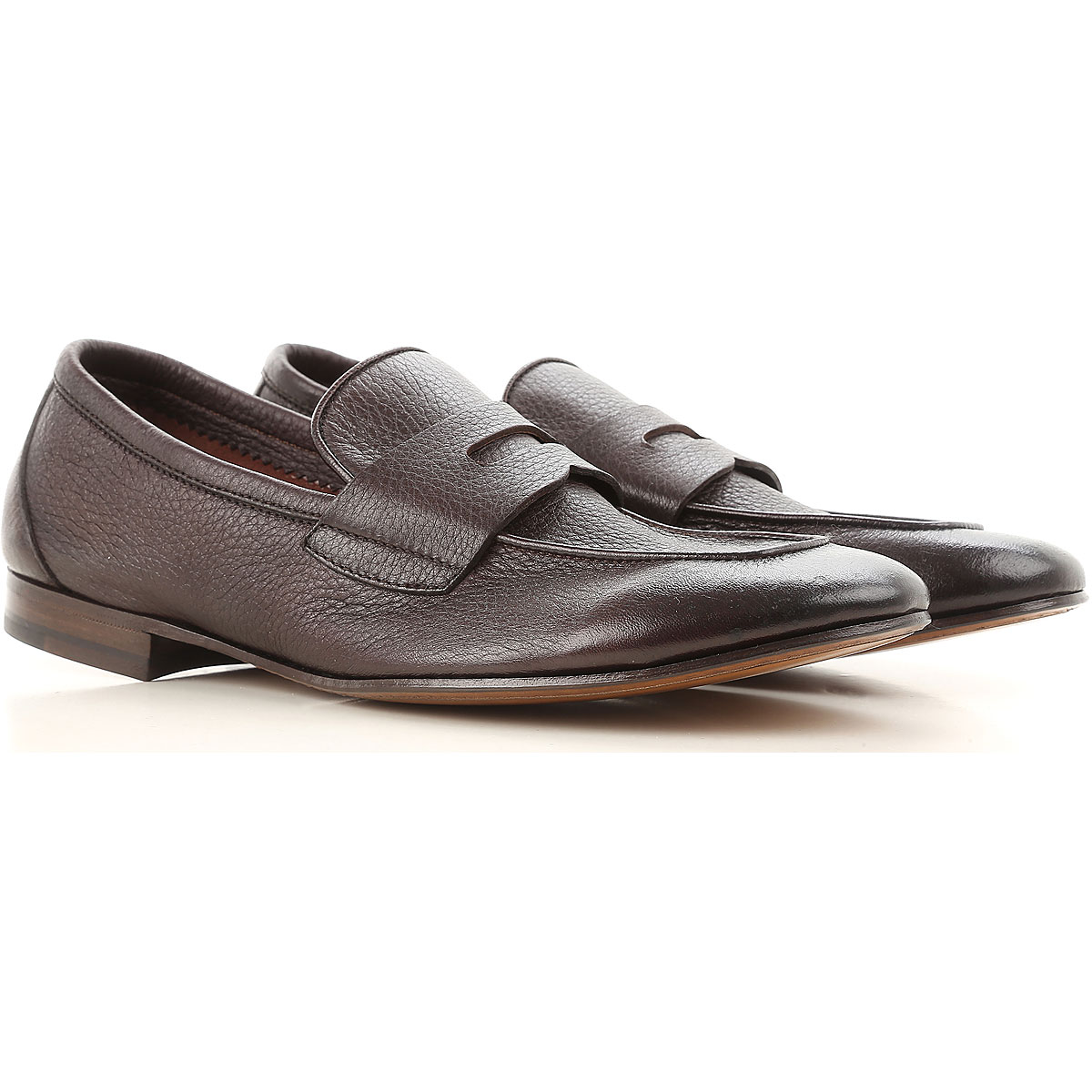 Henderson Loafers for Men, Dark Brown, Leather, 2019, 10.5 11 6 7.5 9 9.5